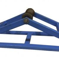 Горизонтальный угловой кабельный ролик РУГ 150