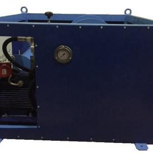 Электро-Гидравлическая кабельная траншейная лебедка ЛГТЭ 10