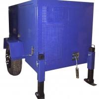 Гидравлическая кабельная траншейная лебедка ЛГТ 50