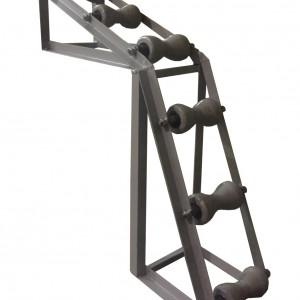 Вертикальный угловой кабельный ролик РУВ 150